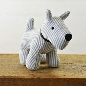 Jacques the Dog Door Stop